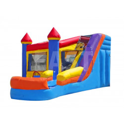 Bouncy Castle Water Slide Combo