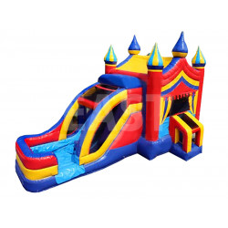 Bouncy Castle With Waterslide
