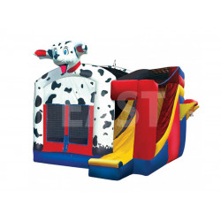 Dalmatian Combo Bouncy Castle