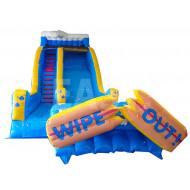 Wipeout Inflatable Water Slide