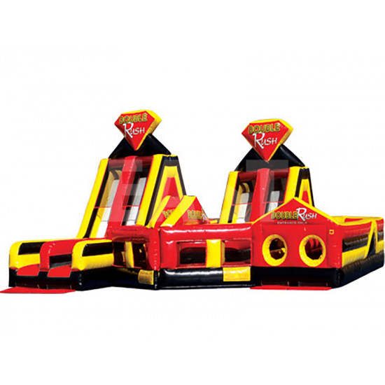 Double Rush 2 Parts Obstacle Course