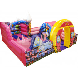 Toddler Bounce House With Ball Pit