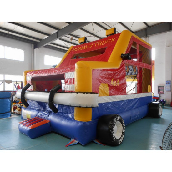 Monster Truck Bouncy Castle