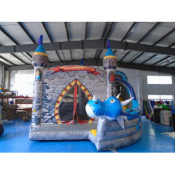 Dragon Bouncy Castle With Slide