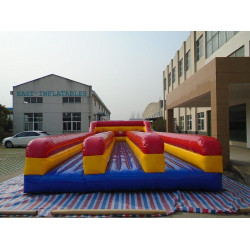Inflatable Bungee Run Three Lane