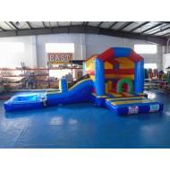 Beach Bounce House With Slide